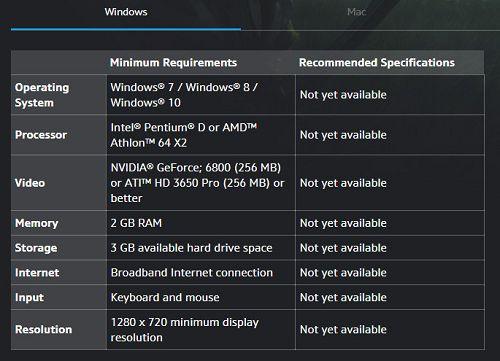 魔兽争霸3重制版 魔兽争霸3重制什么时候发售 魔兽争霸3PC最低配置要求 魔兽争霸3MAC最低配置要求