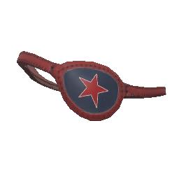 Red Star Eyepatch
