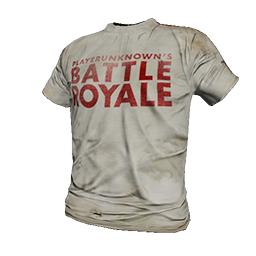 White Battle Royale T-Shirt