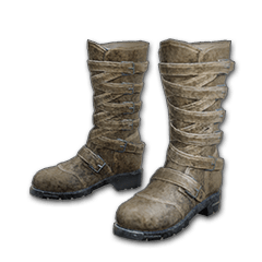 Long Leather Boots (Brown)