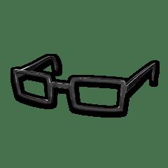 Horn-rimmed Glasses (Black)