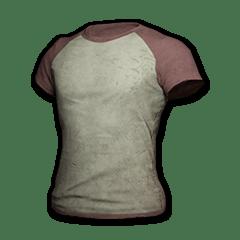 Raglan T-shirt (Red-White)