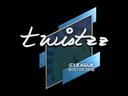 Sticker | Twistzz | Boston 2018