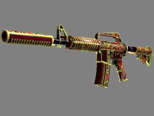 M4A1-S | Chantico's Fire (Well-Worn)