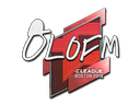 Sticker   olofmeister   Boston 2018