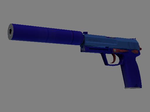 Souvenir USP-S   Royal Blue (Minimal Wear)