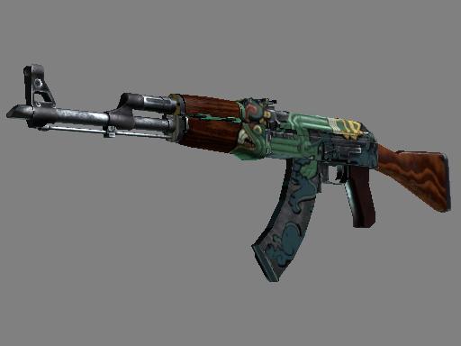 AK-47   Fire Serpent (Field-Tested)