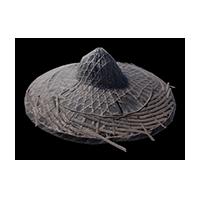 Sedge hat