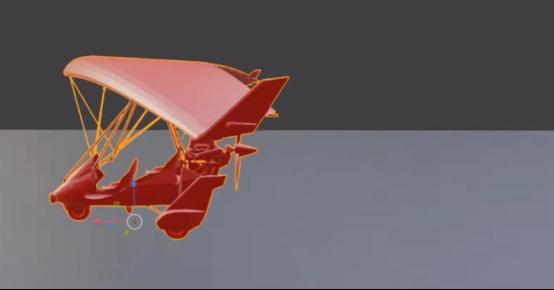 《绝地求生》新载具滑翔机曝光模型